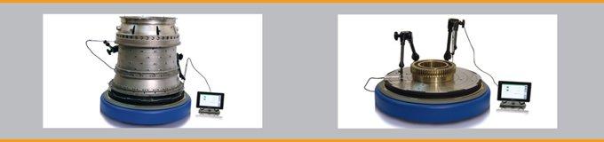 Mesa Giratória Desenvolvida para Inspeção de Componentes